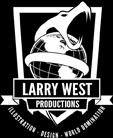 Larry West Productions Logo