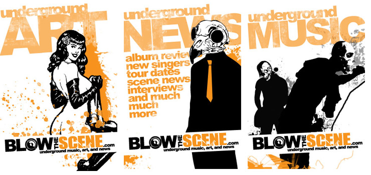 Banner Ads for Blow the Scene