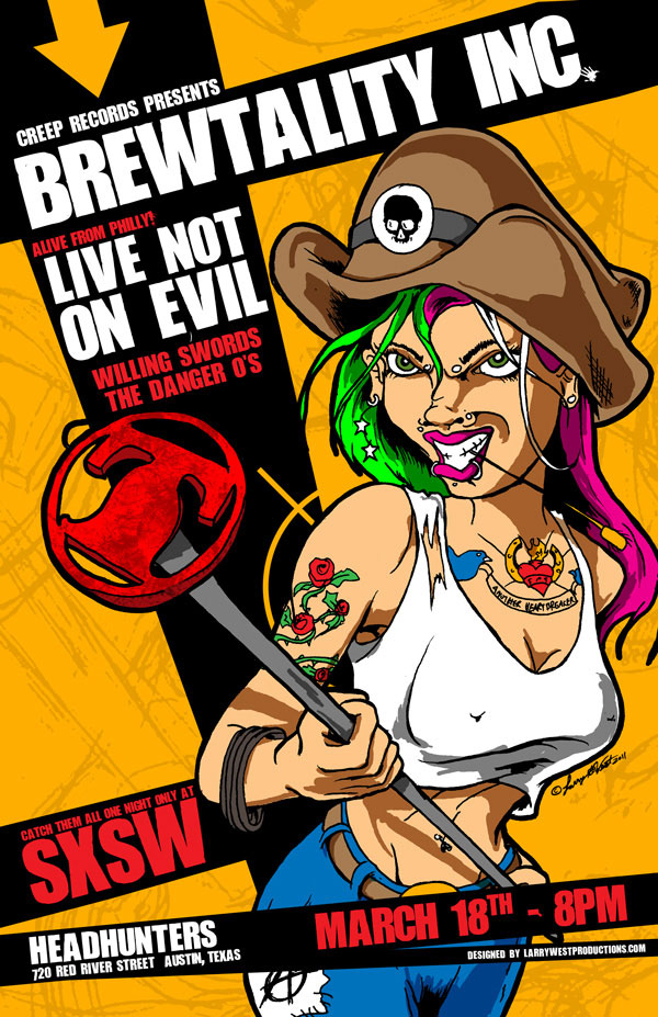 Live Not on Evil - Live at SXSW in Texas!