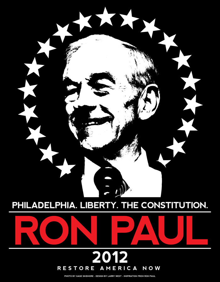Ron Paul 2012 - Philadelphia T-Shirt Design