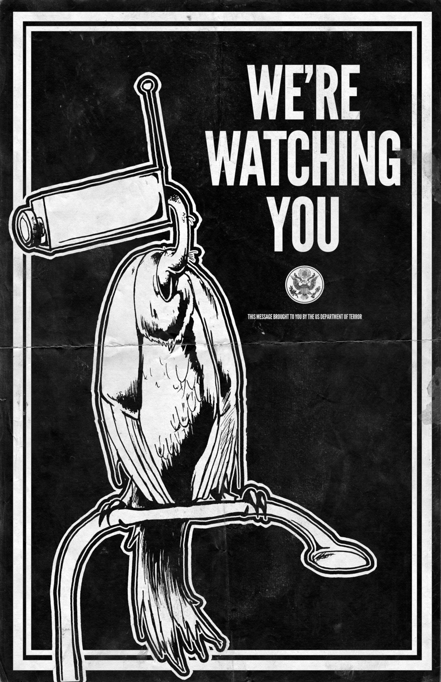 We're Watching You - Poster